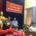 Đảng bộ Cao su Kon Tum: Trao huy hiệu 30 năm tuổi Đảng cho 2 Đảng viên