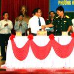 Cao su Đồng Nai tiếp tục ký kết chương trình phối hợp với Sư đoàn 309