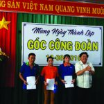 Công đoàn Gỗ Thuận An đưa vào hoạt động Góc văn hóa