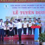 Cao su Phú Riềng tuyên dương 182 học sinh - sinh viên