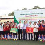 Cao su Phú Riềng nhất toàn đoàn Hội thao khu vực Đông Nam bộ