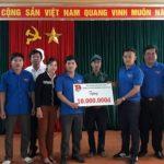 ĐTN Cơ quan Tập đoàn hỗ trợ 2 công ty miền Trung