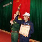 Binh đoàn 15: Bùi Thanh Loan giành Bàn tay vàng