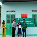 Cao su Kon Tum tặng 11 căn nhà tình thương cho công nhân nghèo