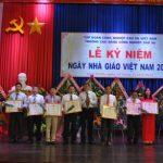 5 tập thể Trường Cao đẳng Công nghiệp Cao su nhận bằng khen VRG