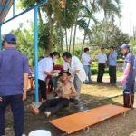 Cao su Bình Long: Diễn tập ứng phó sự cố hóa chất