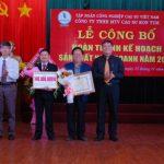 Cao su Kon Tum hoàn thành kế hoạch trước 41 ngày