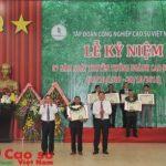 Trao cho người xứng đáng, nâng cao uy tín giải thưởng Cao su Việt Nam