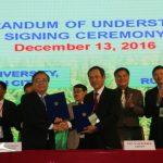 VRG ký kết hợp tác với Đại học Nông lâm TP.HCM