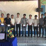 Đoàn Thanh niên VRG trao 520 phần quà cho thanh niên công nhân