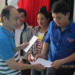 Trao 69 suất quà cho công nhân Công ty CPCS Điện Biên dịp Tết