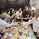 Lãnh đạo VRG thăm Tạp chí Cao su trong ngày làm việc đầu năm