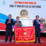 Tự hào 40 năm Cao su Chư Prông