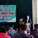 Công ty CPCS Lai Châu đào tạo kỹ thuật thu hoạch mủ