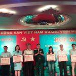 Bộ Tư lệnh Quân khu 7 tặng bằng khen cho Tạp chí Cao su VN