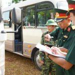 Kiểm tra phương tiện kỹ thuật vận tải Cao su Bình Long, Phú Riềng