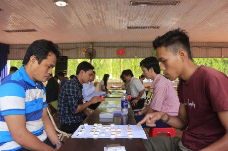 Bộ môn cờ tướng gồm 2 nội dung đơn nam và đơn nữ thi đấu 5 trận vòng tròn tính điểm.