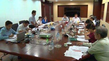 Lãnh đạo VRG làm việc với Đoàn Thanh niên về phương án tổ chức Đại hội.