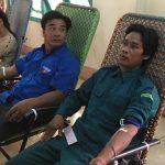 21 đồng bào dân tộc thiểu số Cao Su Chư Sê hiến máu tình nguyện