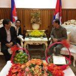 VRG chúc Tết cổ truyền Campuchia