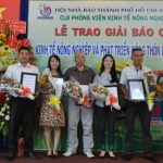 PV Tạp chí Cao su VN đạt giải báo chí viết về nông nghiệp, nông thôn