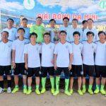 Cao su Phú Riềng tổ chức giải bóng đá mini cấp lãnh đạo