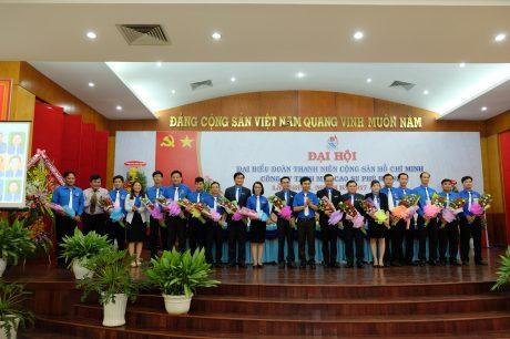 BCH nhiệm kỳ mới ra mắt đại hội