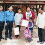 VRG góp phần vun đắp tình hữu nghị thanh niên biên giới