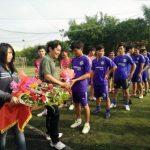 70 cầu thủ tham gia giải bóng đá mini Cao su Đồng Phú