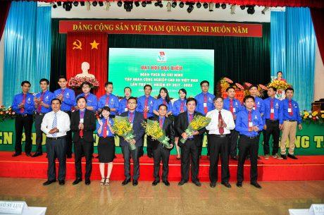 BCH nhiệm kỳ 2017 - 2022 ra mắt nhận nhiệm vụ
