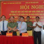 Đảm bảo an ninh, an toàn trong trồng cao su tại Điện Biên, Lai Châu