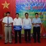 Cao su Mang Yang trao 2 nhà Mái ấm Công đoàn cho công nhân