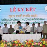 Cao su Đồng Nai ký quy chế phối hợp với Sở Công Thương