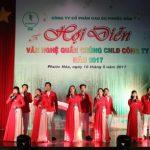 Sôi nổi Hội diễn Văn nghệ quần chúng Cao su Phước Hòa