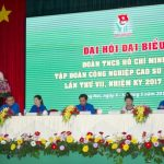 21 đồng chí trúng cử ban chấp hành Đoàn Thanh niên VRG nhiệm kỳ 2017 - 2022