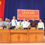 Cao su Bình Long ký kết chương trình phối hợp với huyện Hớn Quản