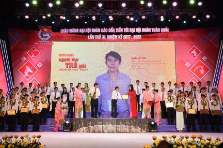 Lê Tài được tuyên dươLê Tài được tuyên dương Người thợ trẻ giỏi toàn quốc năm 2016 Người thợ trẻ giỏi toàn quốc năm 2016