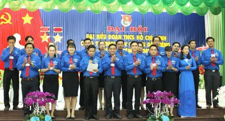 Ban Chấp hành Đoàn Thanh niên Cao su Dầu Tiếng khóa XII, NK 2017 - 2022 ra mắt đại hội