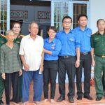 Đoàn Thanh niên VRG hỗ trợ 40 triệu đồng tu sửa nhà gia đình chính sách