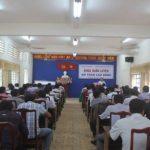 Trường Cao đẳng Công nghiệp Cao su tổ chức bồi dưỡng văn thư và an toàn điện - nước