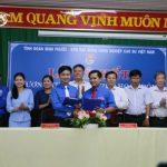 Đoàn Thanh niên VRG ký quy chế phối hợp với Tỉnh đoàn Bình Phước