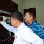 Trao 3 bộ pin năng lượng mặt trời cho Cao su Mang Yang K