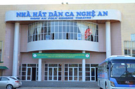 Nhà hát Dân ca Nghệ An -  nơi diễn ra hội diễn