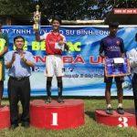 Nông trường Trà Thanh vô địch giải U-15 Cao su Bình Long