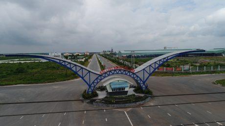 Cổng chào Khu công nghiệp Tân Bình.