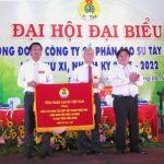 Ông Nguyễn Thanh Liêm tái trúng cử Chủ tịch Công đoàn Cao su Tây Ninh
