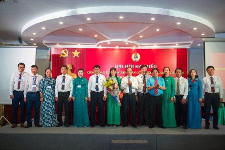 BCH Công đoàn Cơ quan Tập đoàn Khóa X ra mắt đại hội
