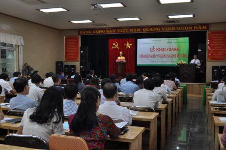 Quang cảnh lớp Tập huấn Kiểm tra giám sát 2017