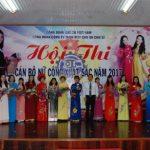 16 thí sinh tham gia thi cán bộ nữ công Cao su Chư Sê