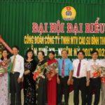 Ông Nguyễn Ngọc Mùi tái đắc cử Chủ tịch Công đoàn Cao su Bình Thuận
